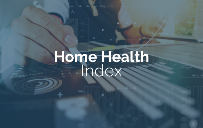 home health and hospice index updates